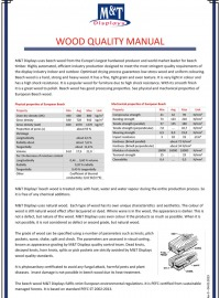 WOOD QUALITY MANUAL