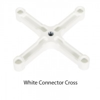 White Connecting Cross