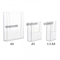 Acrylic Holders - White parts