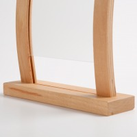 Curved Desktop Menu Holder