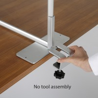 Table Barrier Clamp Feet