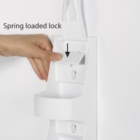 Tool Free Dispenser Vol2 For Wall And Glass Mounting