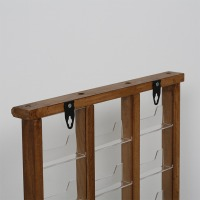 Wall Mount Wooden Card Holder