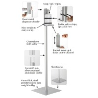 Floor Stand for Pump Dispensers