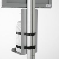 Floor Stand for Healthcare Dispensers in Box with Frame