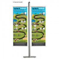 Free Standing Banner Set