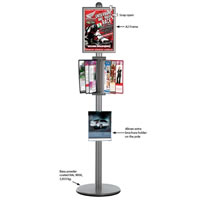 Free Standing Reference Rack