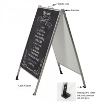 Stainless Steel A Board