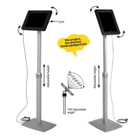 Universal Flexible Tablet Kiosk