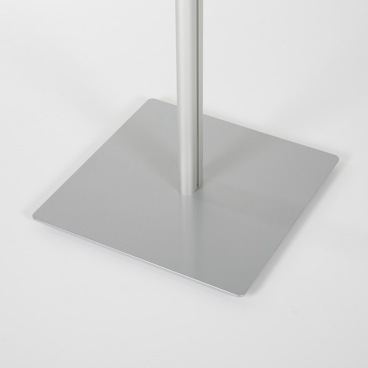 Hand Stanitizer Floor Stand With Opti Frame Vol1