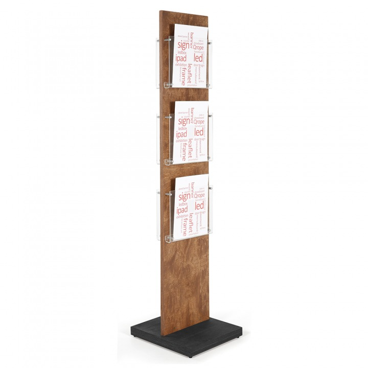 Wood Poster Stand