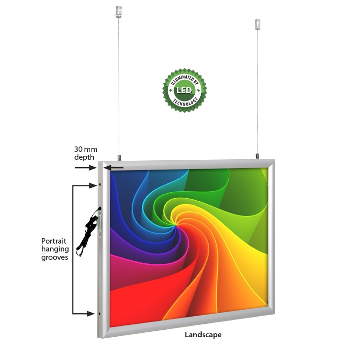Best Buy LEDbox Double Sided