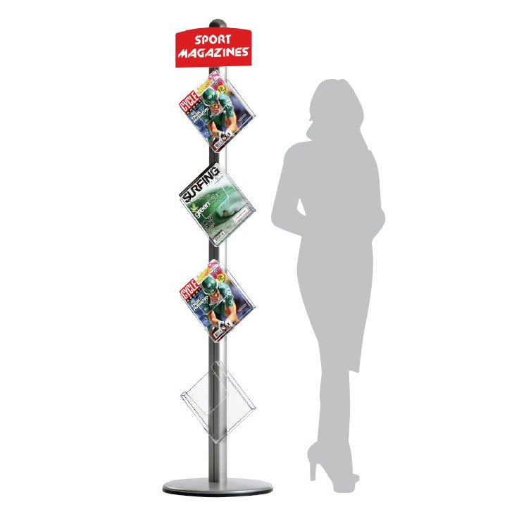 Free Standing Leaflet Dispensers