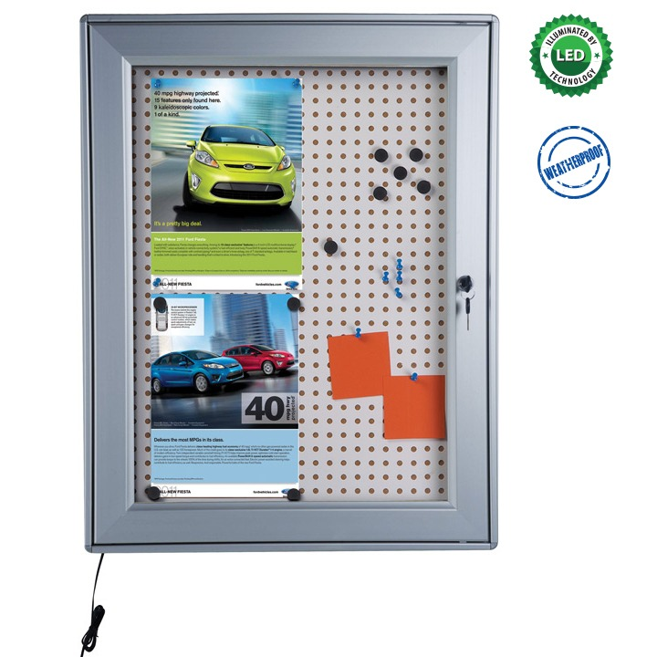 Noticeboard with Led Light