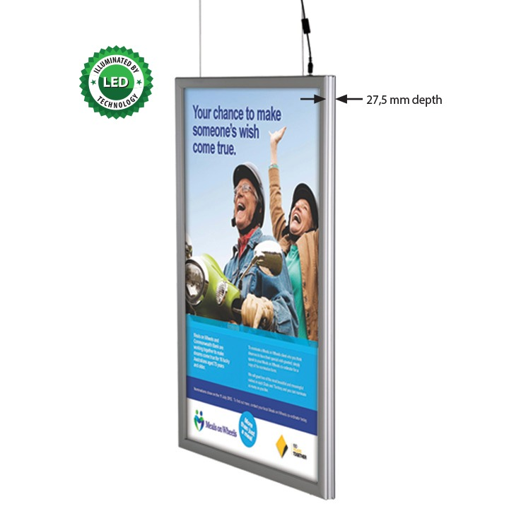 Smart Ledbox 25 mm Double Sided