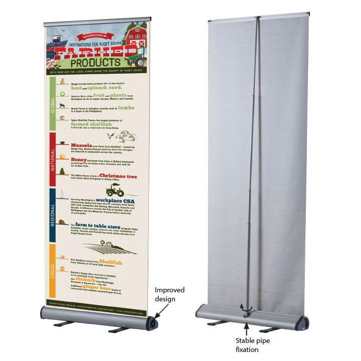 Smart Roll Banner( Single Sided)