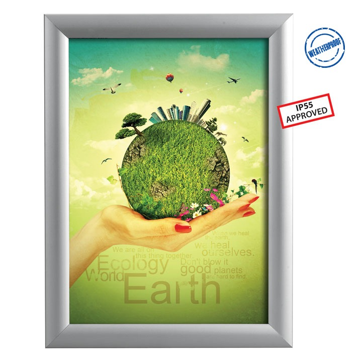 Lens Select Profile Backing Color 20 x 40 Custom Poster Picture Frame 20x40